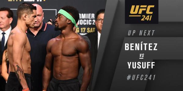 UFC 241 Results - Sodiq Yusuff Puts Away Gabriel Benitez With A Stunning First-Round TKO -