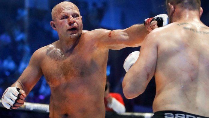 Rampage vs Fedor targeted for Bellator-Rizin co-promoted year end event - Fedor Emelianenko