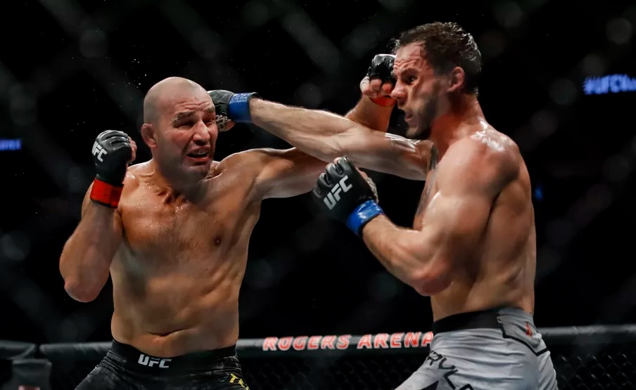 UFC Fight Night 158 Results - Glover Teixeira Earns a Split Decision Win Over Nikita Krylov -
