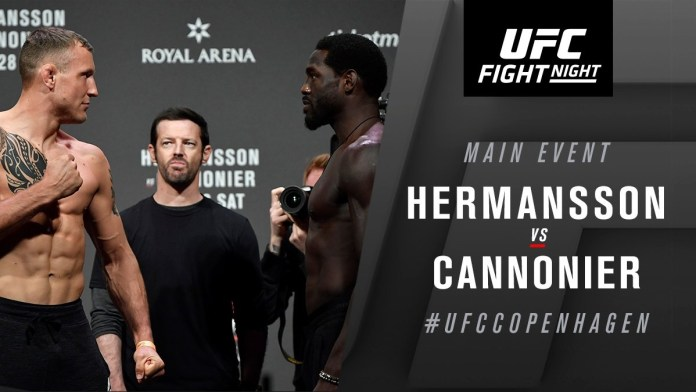 Jack Hermansson explains reason behind Jared Cannonier defeat - Hermansson