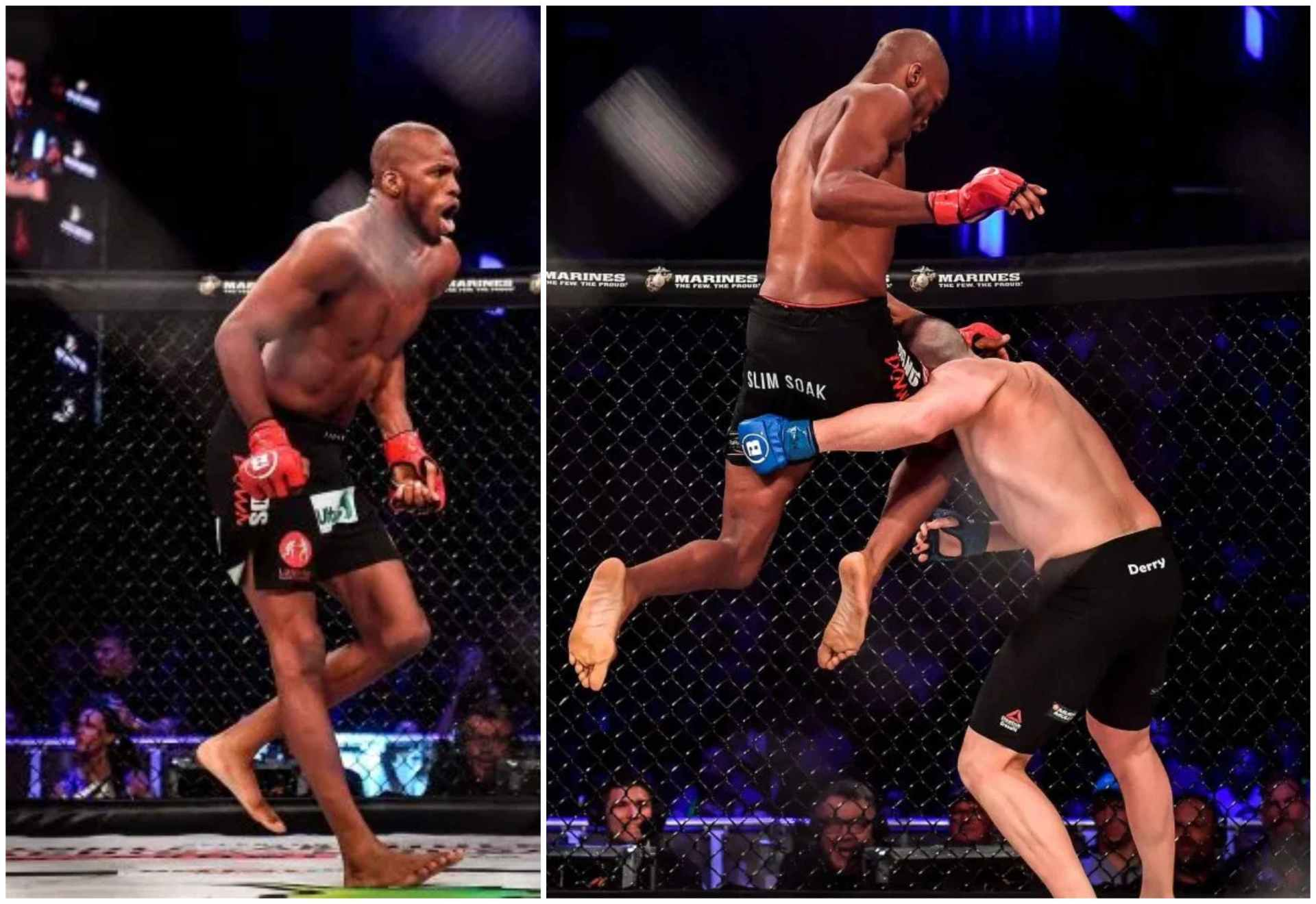 Watch: MVP delivers another flying knee knockout and showboats in front of downed opponent! - MVP