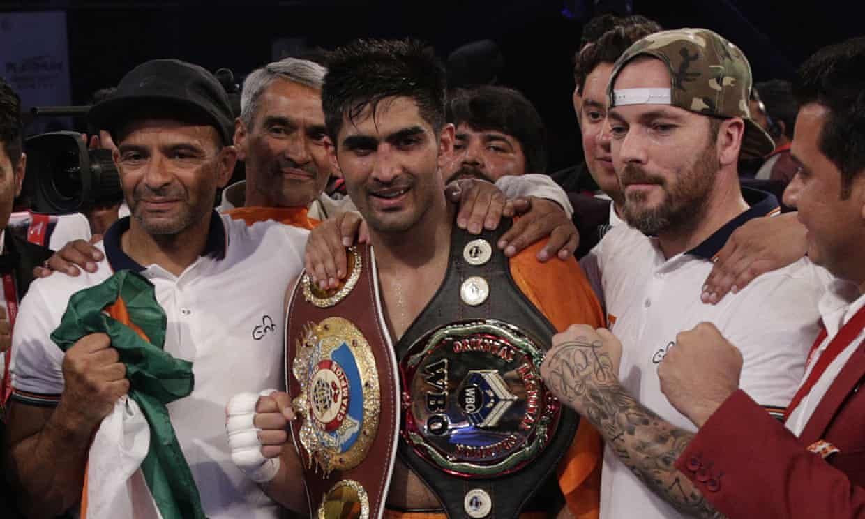 Vijender Singh aiming for a world title fight in 2020 - Vijender