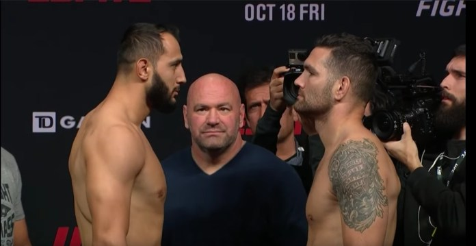 UFC Fight Night Dominick Reyes vs Chris Weidman - UFCBoston