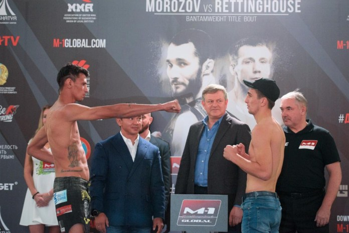 M-1 Challenge 105 Official Weights & Pictures - M-1 Challenge