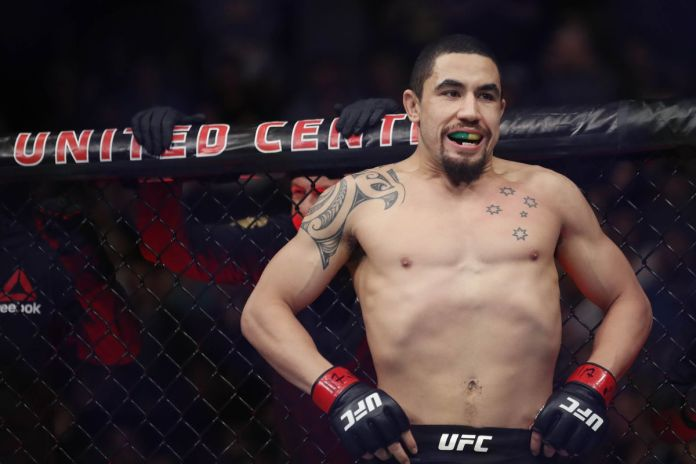 Watch: Robert Whittaker credits ripped physique to time spent outside fighting - Whittaker