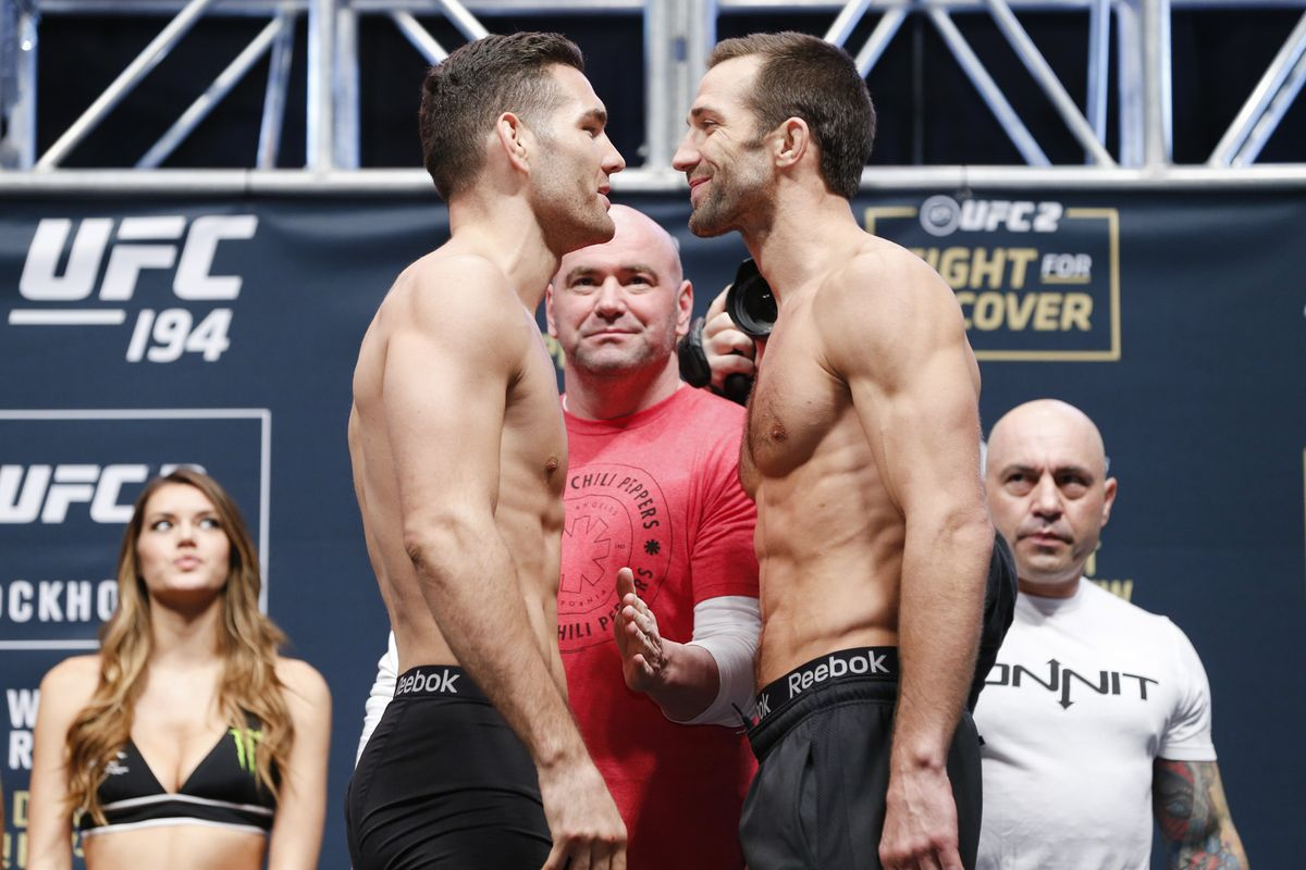 Luke Rockhold not interested in a rematch with Chris Weidman - Rockhold