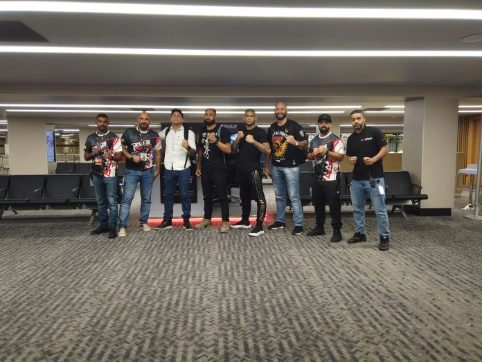 """""""Brazilian army"""" touches down in Bahrain ahead of BRAVE CF 29 - BraveCF"""