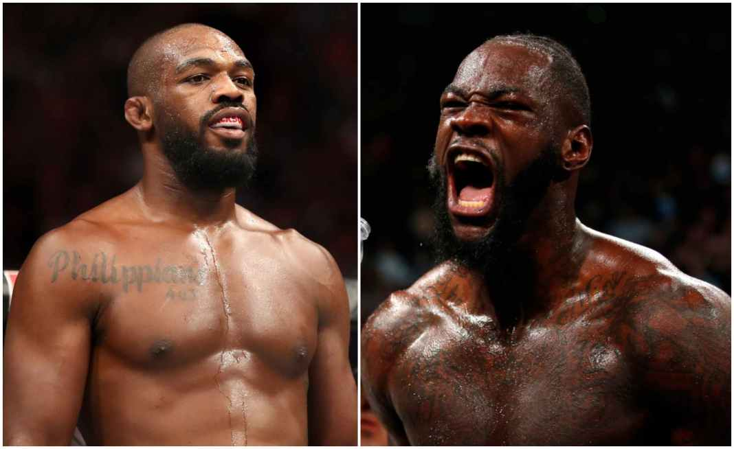 Jon Jones says the way Deontay Wilder hits is a 'gift from god' - Wilder