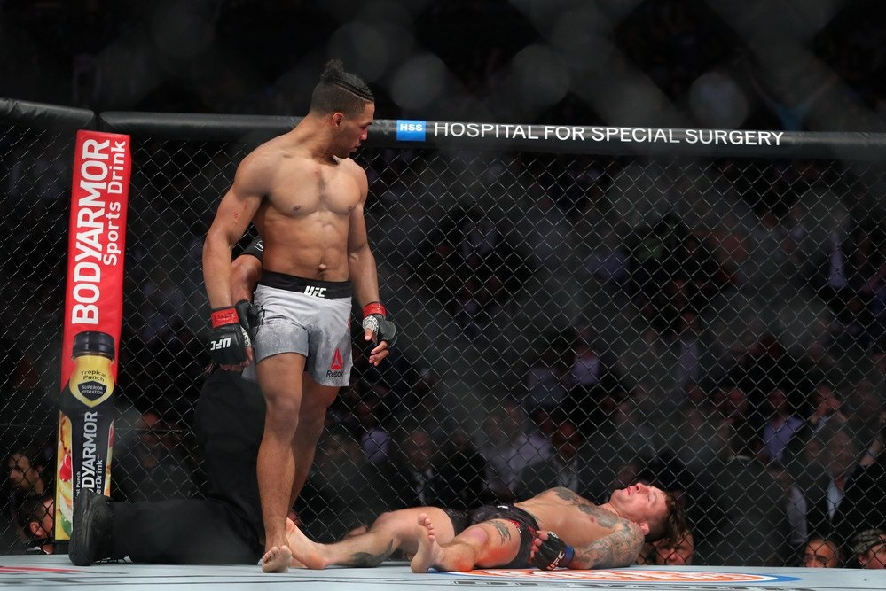UFC 244 Results - Kevin Lee's Monstrous Head Kick Sends Gregor Gillespie into Oblivion -