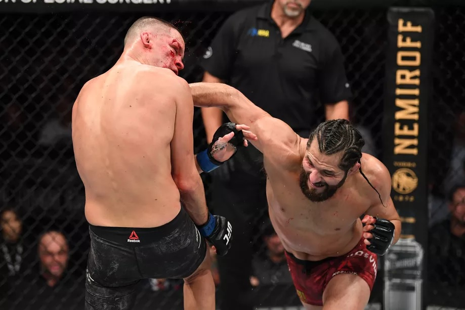UFC 244 Results - Jorge Masvidal Outworks Nate Diaz, But the Fight Ends in A Controversial Doctor Stoppage -