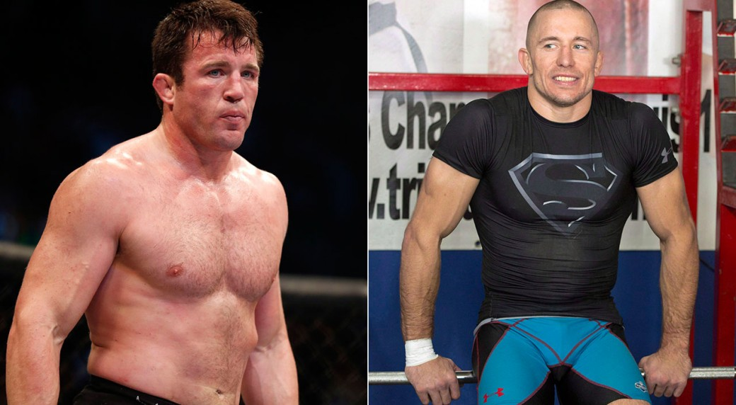 Chael Sonnen opens up about a 'Basement Fight' with Georges St-Pierre - Sonnen