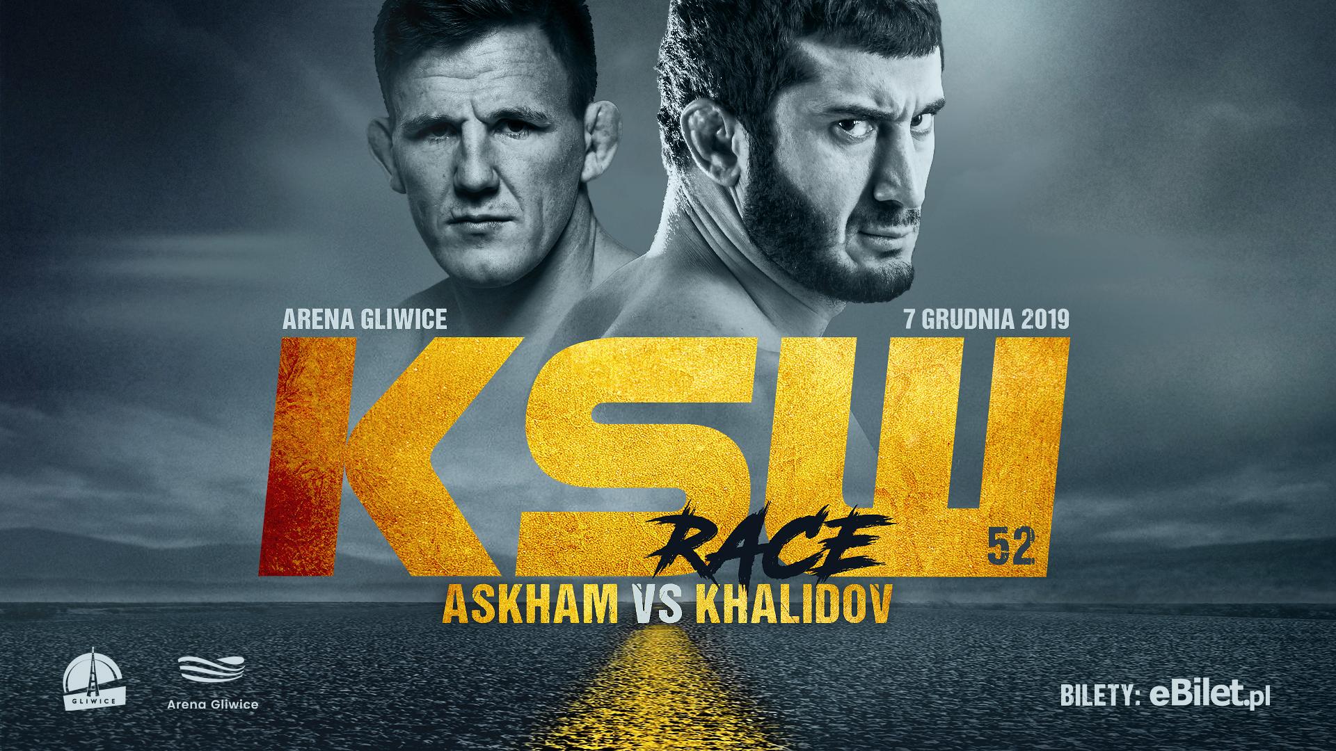 KSW 52 Weigh-In Results & Final Fight Card - Scott Askham Khalidov