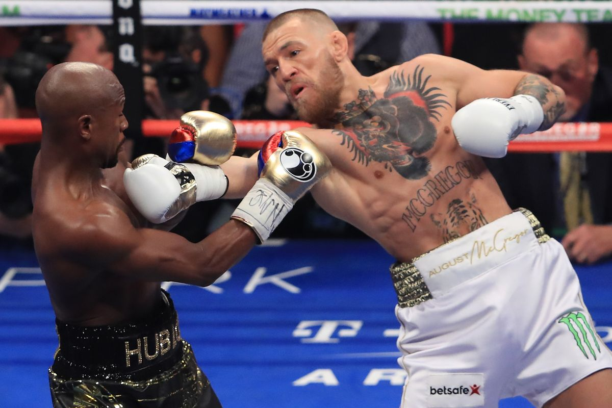 Conor McGregor calls out Floyd Mayweather for a rematch - Mayweather