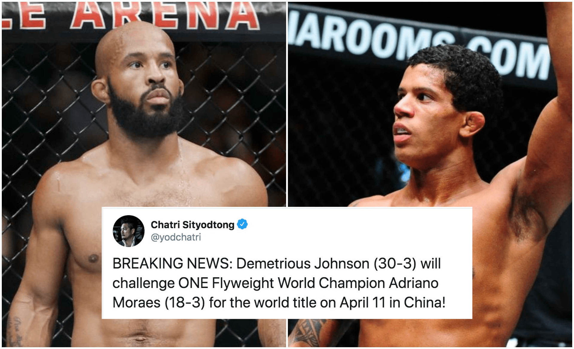 Demetrious Johnson will fight for the ONE Championship belt in April 2020 - Demetrious