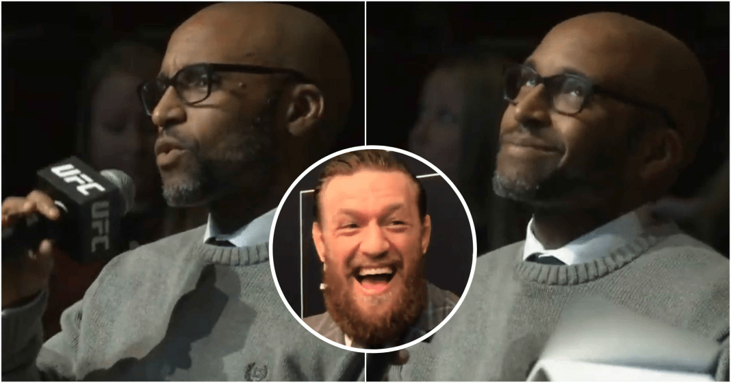 UFC News: Fans boo at journalist who asked Conor McGregor about the sexual assault allegations - Conor McGregor