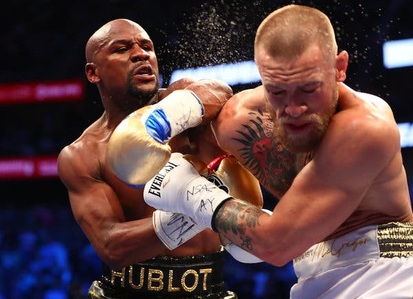 Floyd Mayweather earned ₹3.5 Crore for every punch he landed - Mayweather