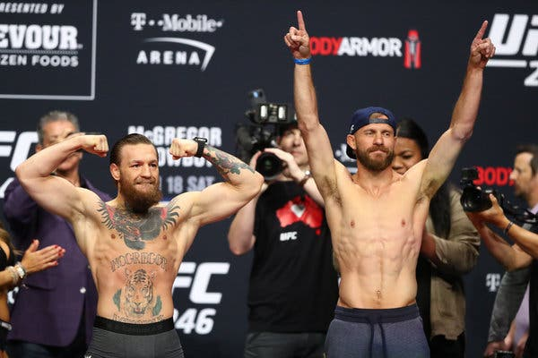 UFC 246 'McGregor vs. Cerrone' - Play by Play Update & LIVE Results -
