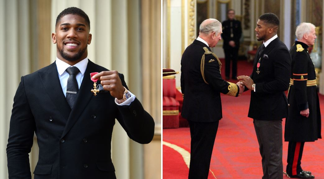 World champ Anthony Joshua came in contact with Prince Charles, who was diagnosed with Coronavirus - Anthony Joshua