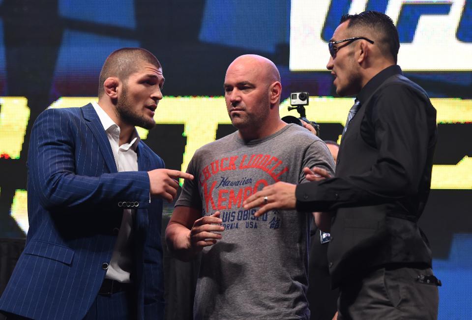 UFC News: Khabib Nurmagomedov and Tony Ferguson pay respect to one another on social media - Khabib Nurmagomedov