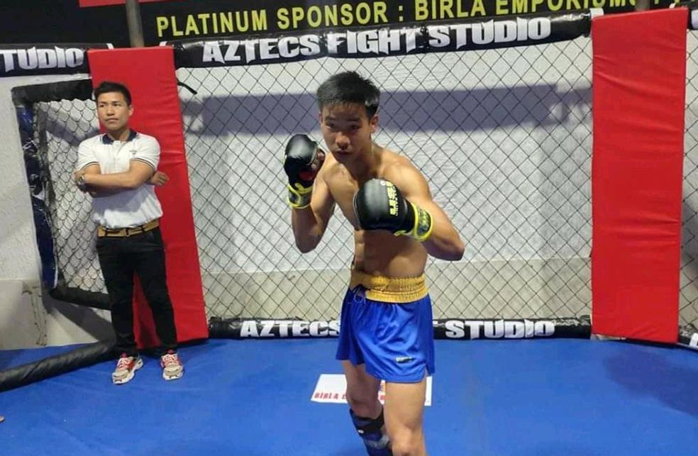 MMA India Exclusive: Yumnam Thoisana Singh: I try to follow Conor McGregor's striking and Khabib's grappling! - Yumnam Thoisana Singh