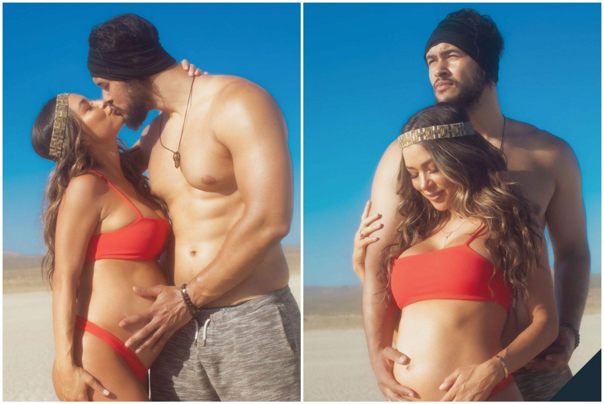 UFC Octagon girl Arianny Celeste announces pregnancy with steamy photoshoot! - Arianny Celeste