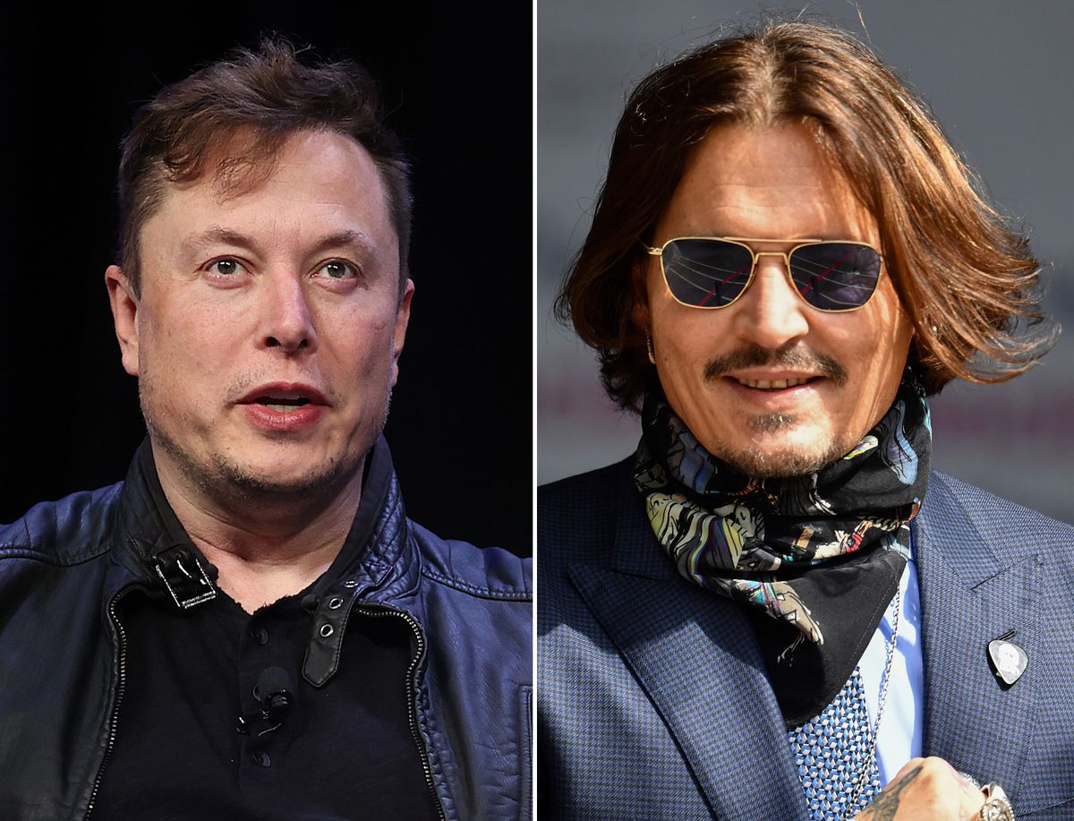 Here's why Elon Musk just challenged Johnny Depp to a cage fight! - Elon Musk