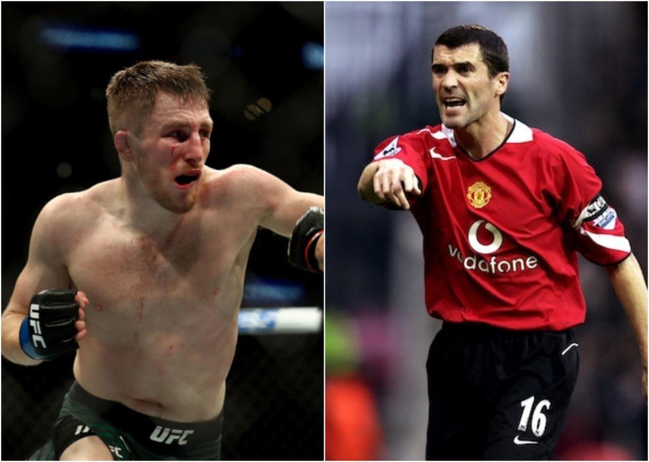 UFC's Brett Johns trolls that former Manchester United captain Roy Keane will be corner man in his next fight - Brett Johns