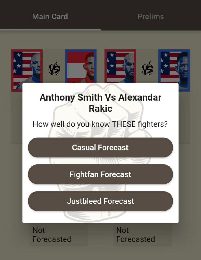 How an MMA app 'Fight Forecaster' developed by an Indian is connecting Fight Fans globally - MMA