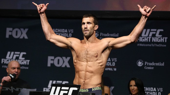 Luke Rockhold weigh-in
