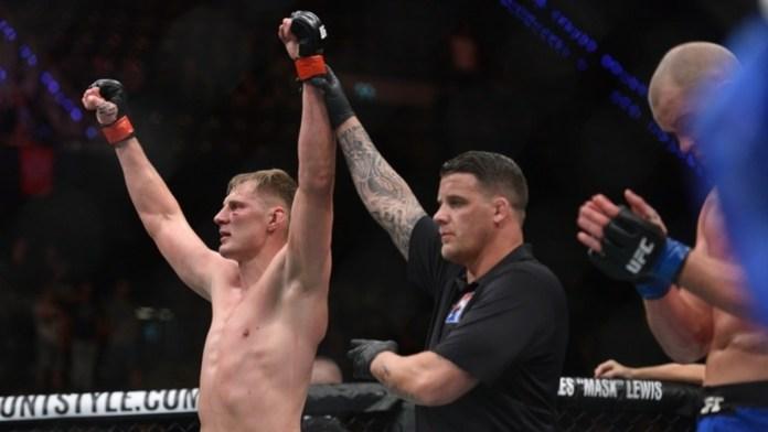 Alexander Volkov UFC Fight Night 115