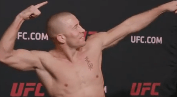 Georges St-Pierre says UFC 217 Weigh-in