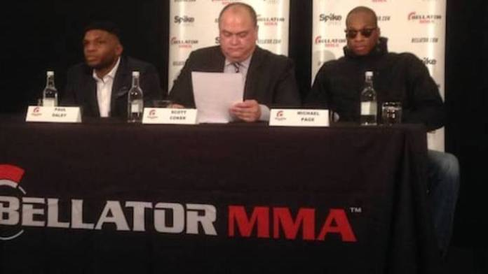 Michael Page Paul Daley