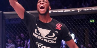 Michael Page on Paul Daley