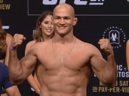 Junior dos Santos Weigh-in