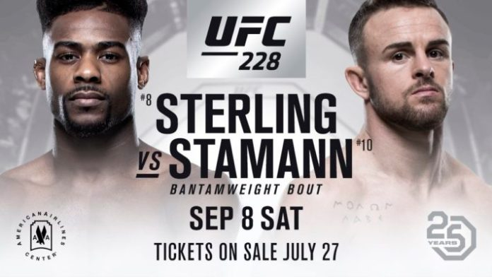 Image result for Cody Stamann vs. Aljamain Sterling