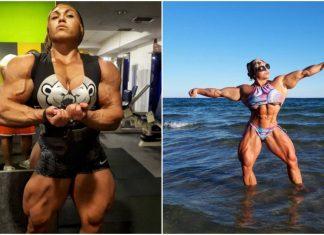 Ea e Nataliya Kuznetsova și are 100 kg de mușchi în plus față de tine!