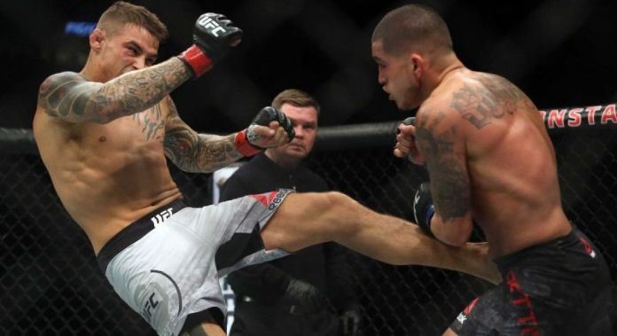 Rezultatele și principalele KO-uri de la UFC Fight Night 120-Dustin Poirier vs Anthony Pettis (Sursa foto)