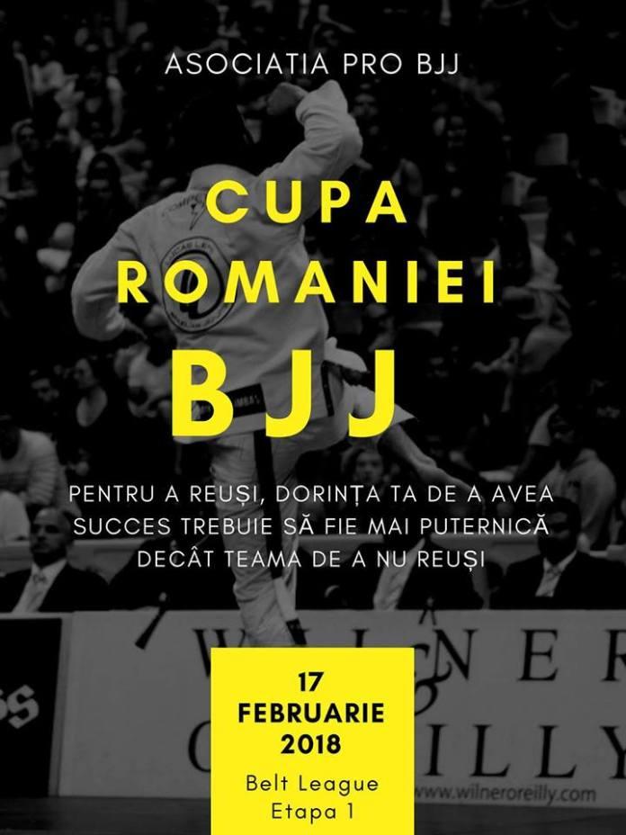 Cupa României la BJJ 2018. Intră să vezi listele de participanți și cum poți urmări competiția