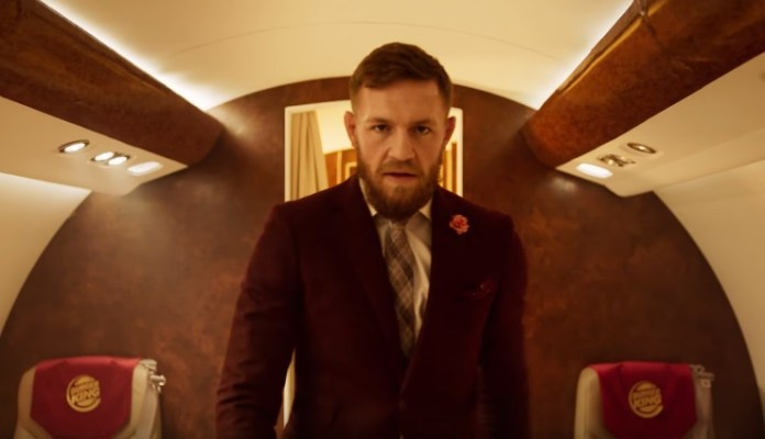 Conor McGregor este starul din noua reclamă Burger KING! (VIDEO)