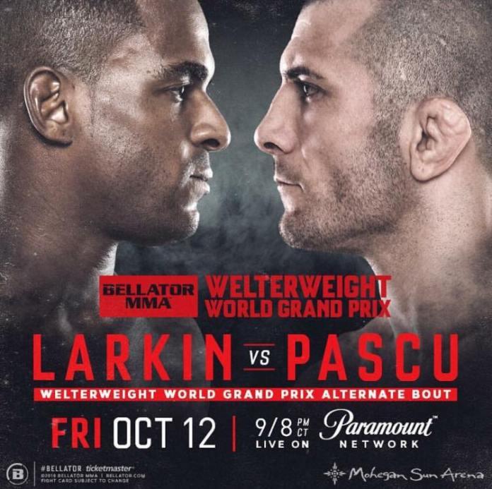 Ion Pascu va lupta împotriva lui Lorenz Larking la Bellator 207!