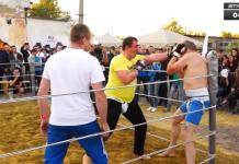 VIDEO. Luptă de stradă între un boxer de 50 de ani și un luptător de MMA 'voluminos'
