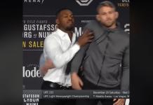 VIDEO. Jon Jones a revenit cu scandal la conferința de presă pentru UFC 232!