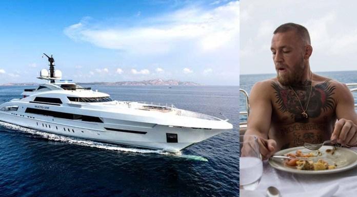 VIDEO. Vezi cum arată noul yacht de lux al lui Conor McGregor