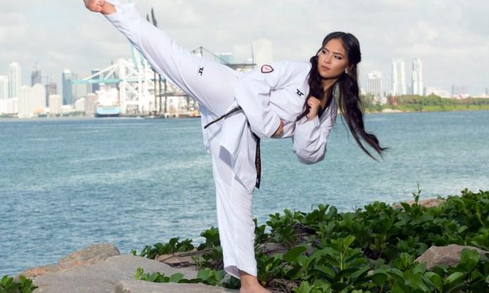 Una dintre cele mai sexy luptătoare de Taekwondo va debuta în MMA!
