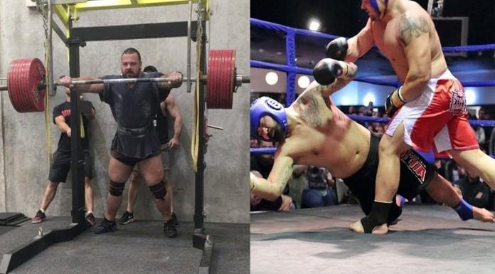 VIDEO Un luptător de 25 de ani și 170 kg vrea să devină campion UFC la categoria grea!