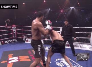 VIDEO. Intră să vezi cum l-a distrus Badr Hari pe Gokhan Saki!