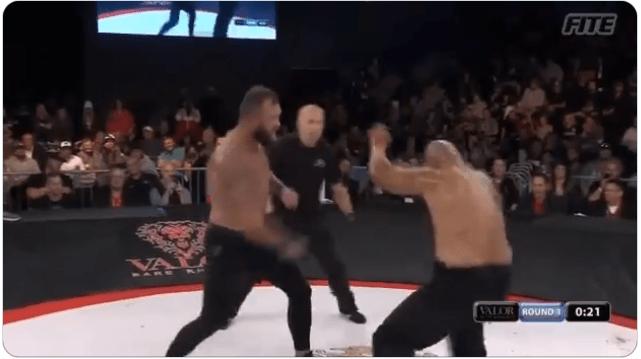 VIDEO. Vezi cele mai brutale KO-uri de la gala de box fără mănuși Valor Bare Knuckle 1!