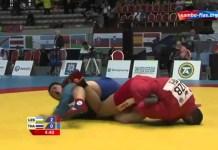 VIDEO. Tehnici spectaculoase din SAMBO, executate în timpul competiției.