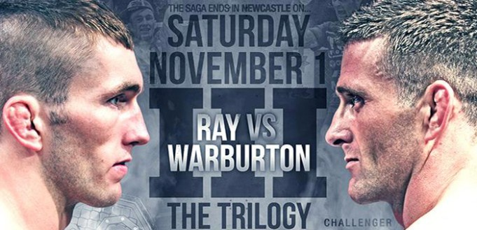 cage warriors 73 Ray vs. Warburton 3