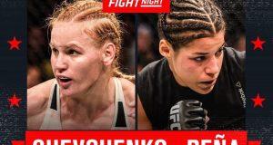 UFC Denver UFC on Fox 23 Shevchenko Pena Denver Betting